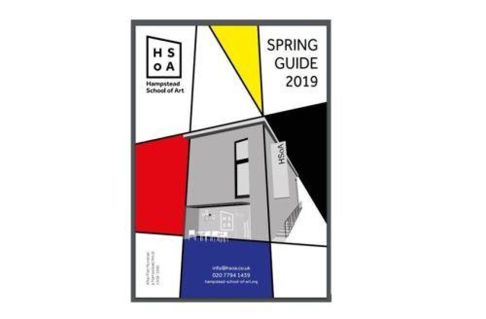 Spring Guide 2019 Cover White Background