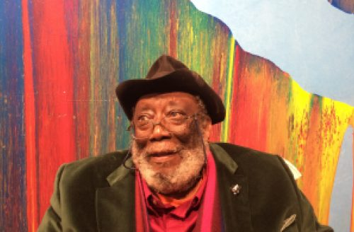 Artist of the Week / HSoA Artist-Patron Frank Bowling OBE RA