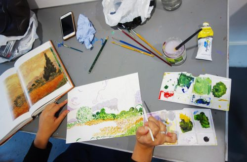 AUTUMN TERM Beginners Drawing and Painting