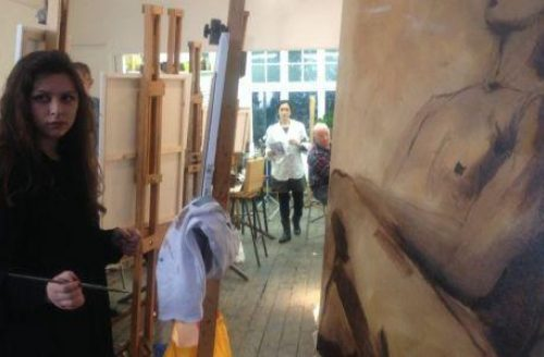 Life Drawing and Painting