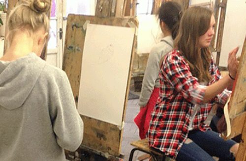 Young Adults Drawing & Painting (Year 8+)