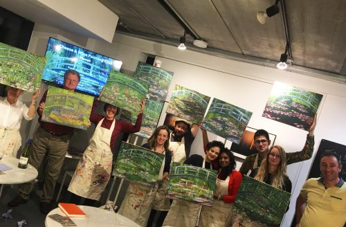 Cheese and Wine Painting Club with Ed Sumner