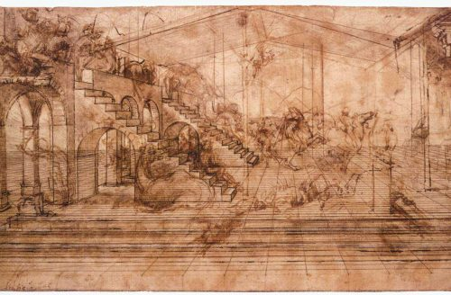 'Leonardo da Vinci: A Life Drawing by the Royal Collection Trust' by Estelle Lovatt