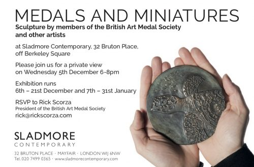 Medals and Miniatures at Sladmore Contemporary