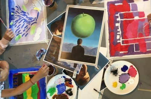 SUMMER TERM Children's Painting and Drawing (Year 1-4)