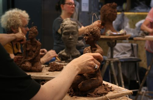 SUMMER TERM Life and Portrait Sculpture