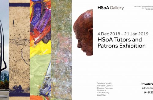 HSoA Tutors and Patrons Exhibition
