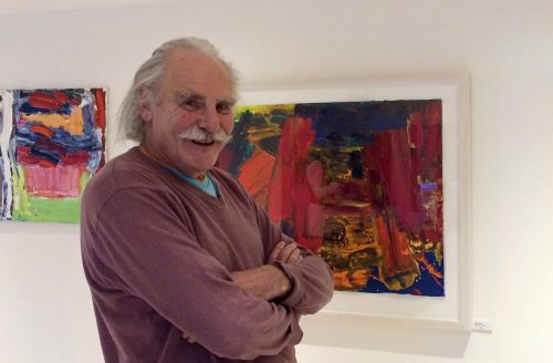 Watch Alan Gouk talk about his paintings