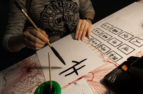 Chinese Calligraphy - Week 1 Adults Christmas Workshop