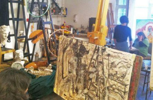 Open Studio - Introduction to Drawing & Painting